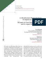 A 100 Años de La Revolución Rusa. P.pozzi-L.pasquali