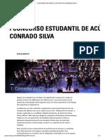Concurso Estudantil de Acústica Conrado Silva