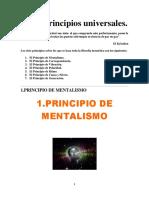 Los 7 Principios Universales -El Kybalion