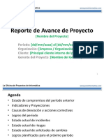 PMO Informatica - Reporte de Avance de Proyecto.pptx