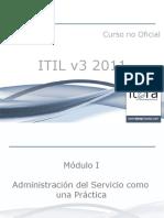 Curso no oficial ITIL v3 2011