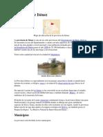 Historia de La Provincia Itenez