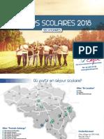 Catalogue Séjours Scolaires Secondaire
