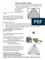 Shapes of Constant Width