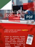 Relacion de Documentos-nuevos
