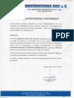Carta de Cumplimiento de Practicas