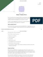 React + Redux Form _ Alex Martinez