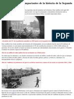 Descubra 10 Datos Impactantes de La Historia de La Segunda Guerra Mundial