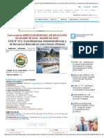 (DIRECCIÓN REGIONAL DE EDUCACIÓN DE MADRE DE DIOS) Convocatoria 2018 CAS Nº 013_ Coordinador(a) Administrativo(a) y de Recursos Educativos para Zonas Urbanas para MADRE DE DIOS.pdf