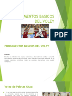 Fundamentos Basicos Del Voley
