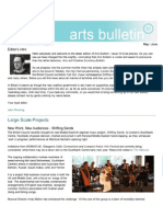 Arts Bulletin 10 by John Pinching