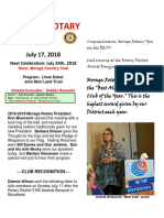 Moraga Rotary Newsletter for July 17 2018 (002)