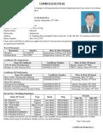Curriculum Vitae Cipto Sungkawa