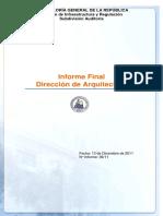 Informe 36-2011 DA RM Proyectos en Construccion
