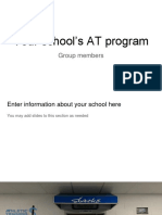 administration group project template