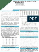 INFLUÊNCIA DO SUBSTRATO E DA CONCENTRAÇÃO DE INÓCULO NA PRODUÇÃO DE CO2