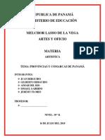 Provincias de Panama