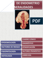 Cancer de Endometrio Generalidades