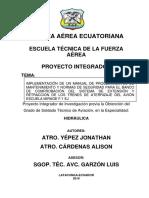 Proyecto Manual de Mantenimiento