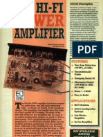 50W HiFi Power Amplifier LW35Q Maplin Kit