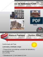 Proceso Fcaw-central de Soldadura de Protección Industrial s.a.