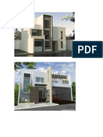 fachadas de viviendas minimalistas