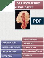 El CA en El Endometrio