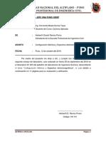 Informe Nº 002 A