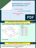 Ejercicio de topografia Basica