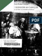 A arte de reduzir as cabeças - Dufour.pdf