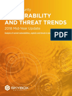 Skybox Report Vulnerability Threat Trends 2018 Mid-Year Update