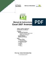 Manual Excel 2007 - Avanzado - Federico Santa Maria