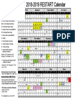 2018-2019 restart calendar