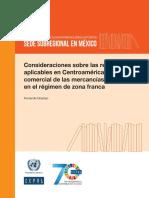 Consideraciones Sobre Las Regulaciones Aplicables en Centroamérica