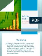 12 Unit III Money Inflation