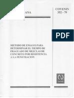 N4.Método de ensayo para determinar el tiempo de fraguado de mexclas de concreto por resistencia a la penetracion.pdf