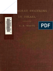 A.E. Waite - The Secret Doctrine in Israel