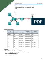 9.2.3.7 Lab - Configuring Port Address Translation (PAT)