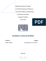 Estadistica y Escalas de Medicion-Reynier Valor