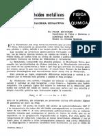 Reduccion de oxidos metalicos.pdf