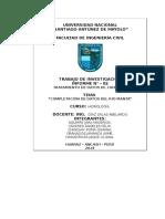 Informe Final de Hidrologia 2014