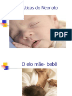 Características Do Neonato