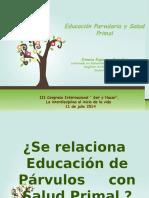 Estimulacion y Educacion Parvularia Prof. Ximena Espinosa