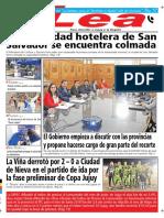 Periódico Lea Jueves 19 de Julio Del 2018