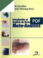 Introducción Al Análisis de Datos en Meta-Análisis - Emilio Letón, Alejandro Pedromingo