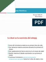 Nutrición Infantil. Requerimientos.fòrmulas Especiales. 02.03.18 (1)