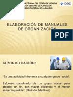 Manual Organizacion