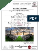 Fuentes Renovables de Energía en México
