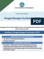 1 Penjelasan Mendikbud Kur 2013 Kpd Nara Sumber Pelatihan (260613).Pptx