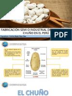 proceso semi o industrial de la papa para chuño en el peru